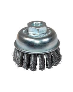 "2-3/4"" Extra Coarse Knotted End Wire Cup Brush (EA)"