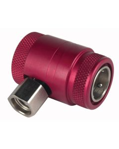 Red High-Side Service Coupler For AC1234-6