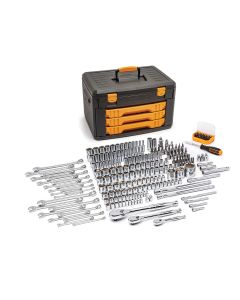 "Gearwrench 243-Piece Tool Set with 6-Point Socket 1/4"", 3/8"", 1/2"" Drive"