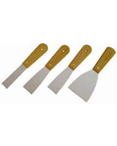 4-pc Scraper and Putty Knife Set
