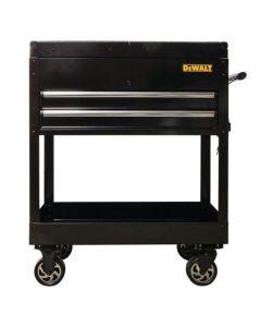 DeWalt 2-Drawer Sliding Top Utility Cart, Black