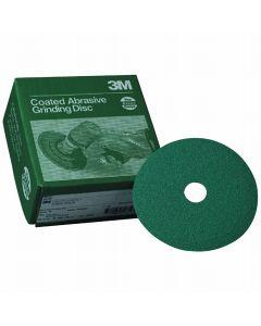 """3M Green Corps 5"""" x 7/8"""" Fibre Disc - 20 discs per Box"""