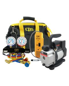Quality Manifold, Pump and Leak Detector Kit