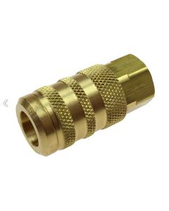 """Manual 6 Ball Coupler, 1/4"""" 6-Point Industrial Coupler, 1/4"""" FPT"""