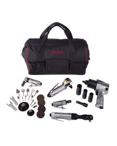 Sunex Tools 5-Piece Air Tool Kit w/ Accessories and FREE Gatemouth Bag