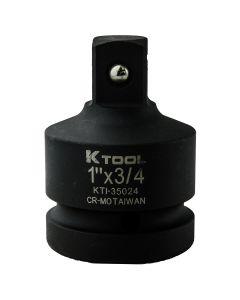 1 in. Female x 3/4 in. Male Impact Socket Adapter (EA)