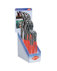 Knipex 6-Pack Cobra Display with Quick Set Cobra