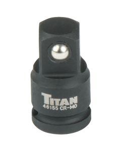 Titan 1/4 in. x 3/8 in. Drive Increasing Adapter