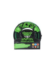 Monster Mobile? Pro Air Hose 3/8 in. x 50 ft. 300 PSI w/ 1/4 in. NPT Brass