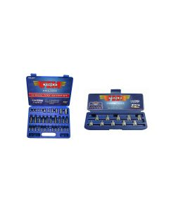 VIM Tools 34-Piece Torx Master Set and 1/2 Cut Torq Driver Set