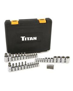 Titan 43-Piece Master Star Bit Socket Set