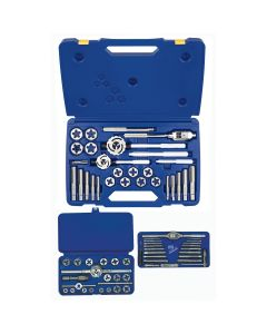 66 Piece Fractional Tap and Hex Die Set
