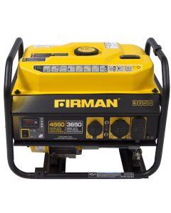 Firman Power Equip. P03607 Gas Powered 3650/4550 Watt Portable Generator