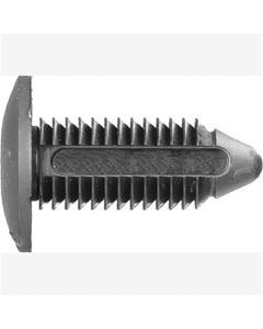 "Fascia Bumper Retainers, Size: 25/64"" (4.5mm), Stem: 28mm, Head: 22mm, Ford N804379S, Qty: 10"