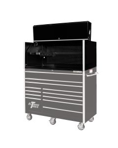 Extreme Tools 55 in. x 25 in. Pro Hutch, Black