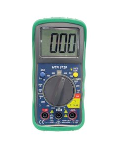 Digital Multimeter with Built-in Temperature Readings