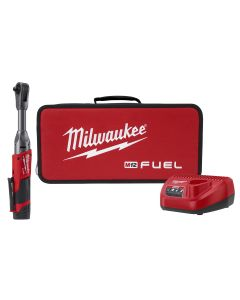 M12 FUEL 3/8 in. Extended Reach Ratchet w/ (1) CP2.0 Battery Kit