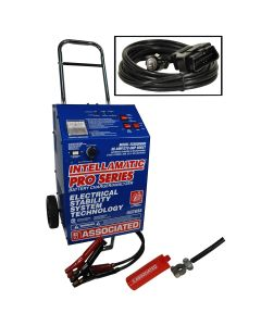 12V 60A, Intellamatic 270A Boost 15A Memory Saver Battery Charger/Analyzer with MS6209-12 Memory Saver Cable
