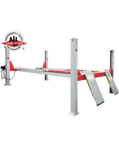 Atlas Platinum 14,000 lb. Capacity 4-Post Open Front Alignment Lift (Will Call Only)
