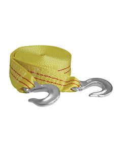 """2"""" x 25' Tow Strap with Forged Hooks at 10,000 lb. Capacity"""