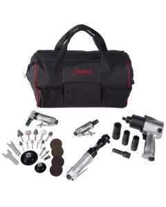 Sunex Tools 4-Tool Kit w/ Accessories and FREE Gatemouth Bag