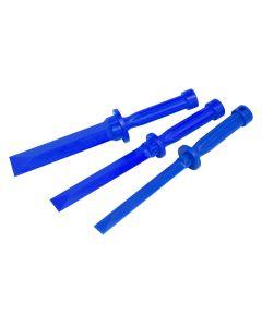 3 Piece Plastic Chisel Scraper Set