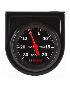 "2"" Mechanical Vacuum/Boost Gauge, Black Face"