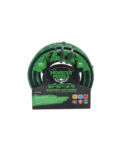 Monster Mobile? Pro Air Hose 3/8 in. x 25 ft. 300 PSI w/ 1/4 in. NPT Brass