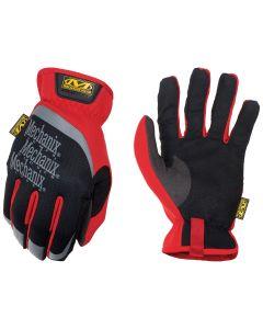FastFit Gloves, Red, Large