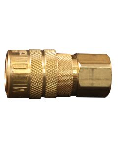 1/4in. Female M Style Coupler