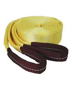 """2"""" x 20' Heavy-Duty Tow Strap with Looped Ends at 15,000 lb. Capacity"""