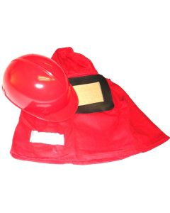 "Medium Duty Sandblasting Hood w/ Bump Cap and 5"" x 6"" Lens"