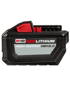 Milwaukee M18 REDLITHIUM HIGH OUTPUT HD12.0 Battery-Pack w/ Rapid Charger