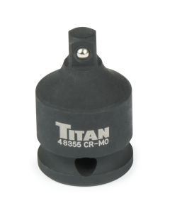 Titan 3/8 in. x 1/4 in. Drive Reducing Impact Adapter