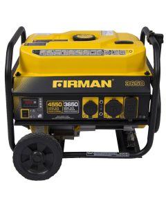 Firman Power Equip. P03602 Gas Powered 3650/4550 Watt Portable Generat