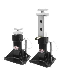 22 Ton Jack Stands (Pair) with Adjustable Tops