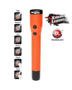 Bayco Polymer Duty/Personal-Size Dual-Light Rechargeable Flashlight w/ Magnet (Light and Battery Only)