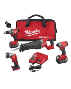 Milwaukee Cordless 4 Tool Combo Kit