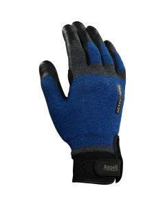 Ansell ActivArmr 97-003 Cut Protection Gloves - Heavy-Duty, Wet and Dry Grip, Breathable, Size Large (1-Pair)
