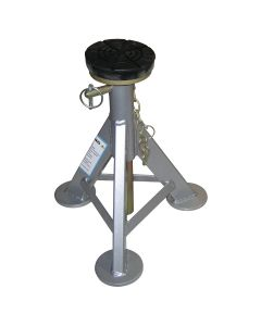 6 Ton Jack Stands (Pair), Flat Rubber Top, 3 Tons Each