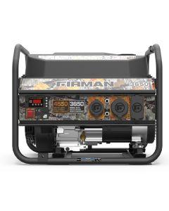 Firman Power Equip. 3650/4550 Watt Portable Generator Camo Edition
