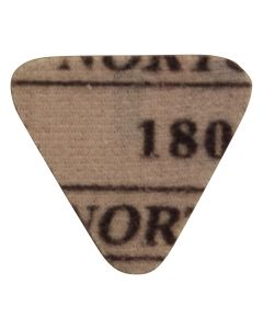 AIRCAT 180 Grit Triangle Sanding Discs, 10 Pack