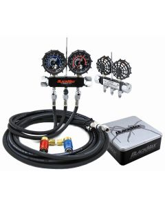 Blackmax Chrome Manifold Gauge Set in Collector's Tin