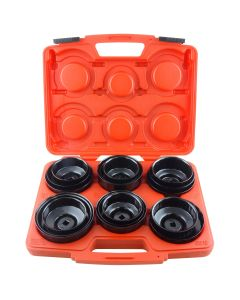 "17-pc 3/8"" Drive Master Oil Filter Wrench Set"