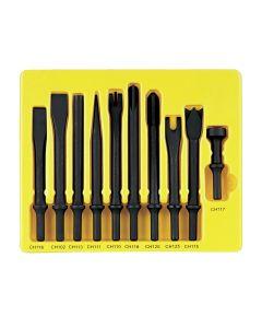 10 Piece General Service Chisel Set - .401 Shank