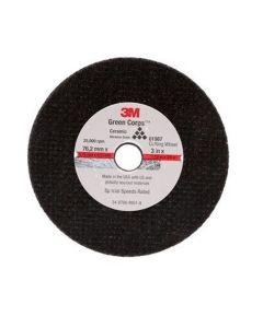 3M General Purpose Cut-Off Wheel 01988, 3 in x 1/16 in x 3/8 in, 50Each/Case