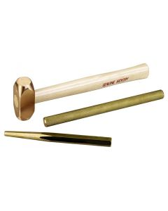Brass Hammer and Punch Set