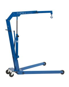 AC Hydraulic Workshop Crane 1.1 Ton