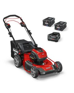 "XD 82V Battery Power Self Propelled 21"" Walk Behind Lawn Mower with (2) 2.0 Ah Batteries/Charger Included"