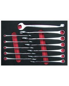 12 Piece High Torque 90 Degree Offet Box / Open End Wrench Set